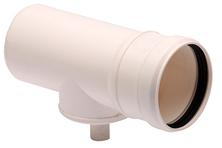 Condensation drain