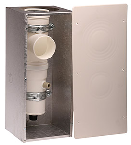 Box with condensate collector