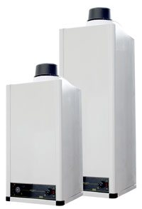 Gas Fired Water Heaters With Sealed Combustion Chamber Sty
