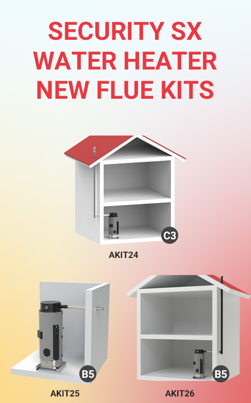 Flue Kits Security SX